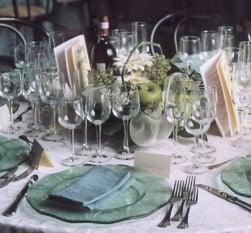 Apparecchiare la tavola seguendo il Galateo