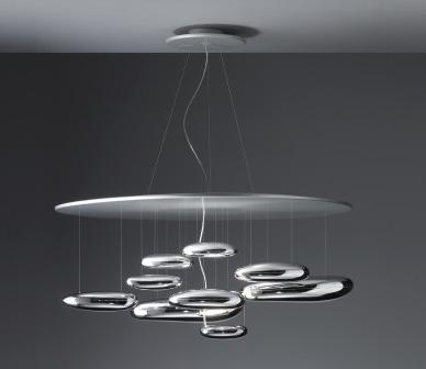 mercury artemide lampada