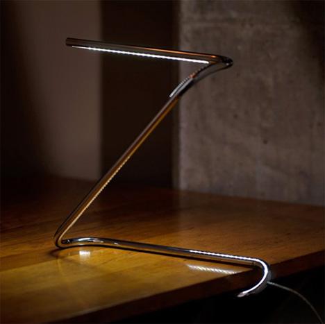 La lampada a forma di graffetta