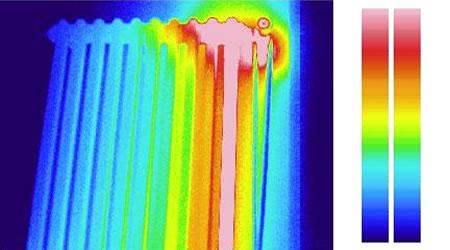 calore di un termosifone