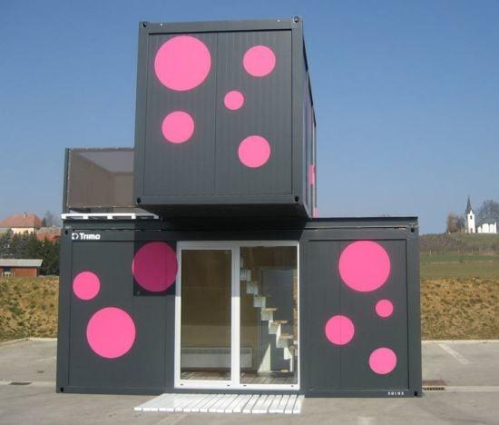 Casa container abitativi