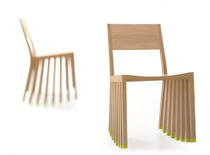 Walker di Oliver Schick: la sedia che pare in movimento
