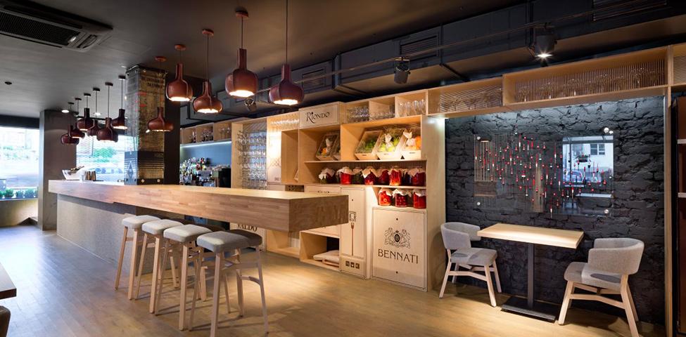 Arredamento Bar Legno.Arredo Bar Design Moderno