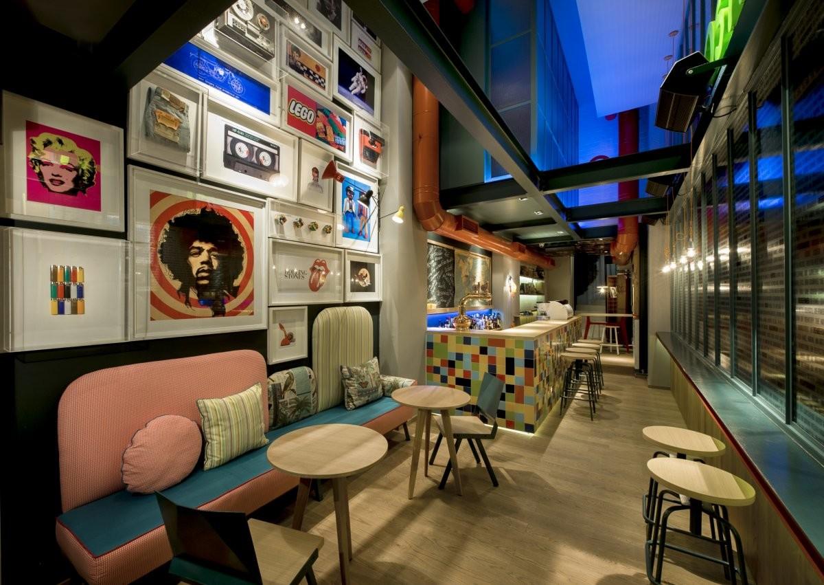 Arredo bar design moderno