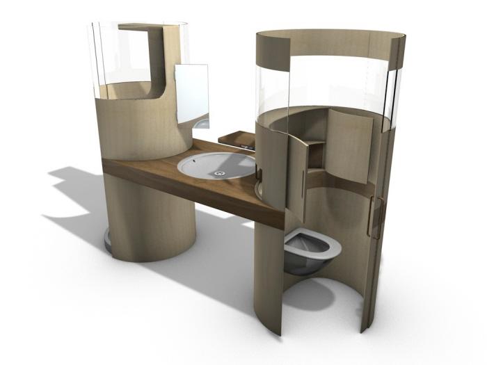 Bagno Design Ecologico In Pietra : Bagno ecologico