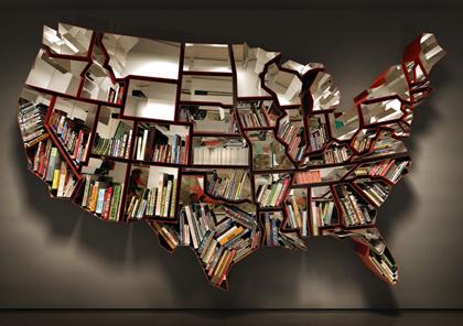 Galleria foto - Libreria Stati Uniti d'America di Ron Arad Foto 1