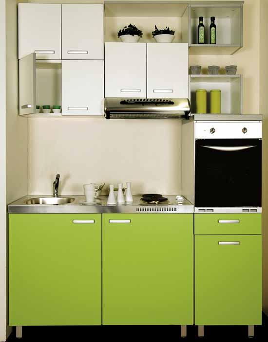 Casa 40 50 60 mq idee arredo - Arredare cucina 4 mq ...