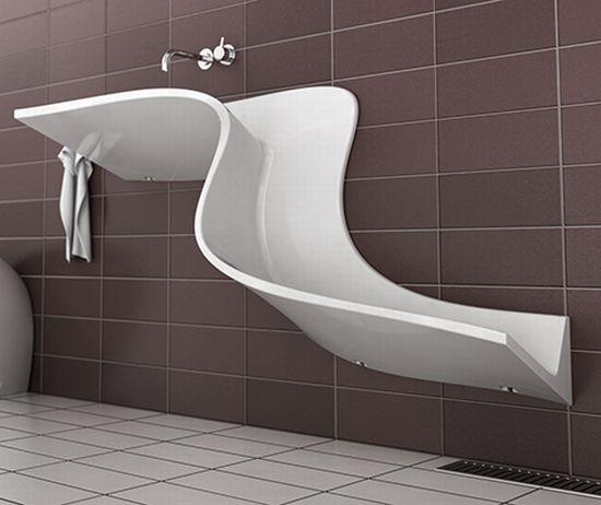 lavabo per il risparmio dell'acqua