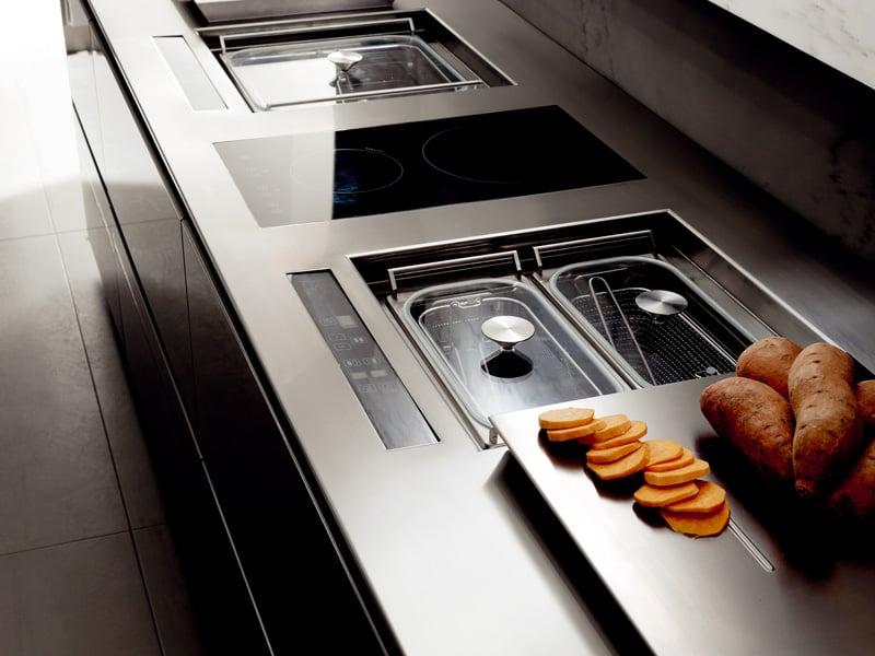 cucina moderna tecnologia