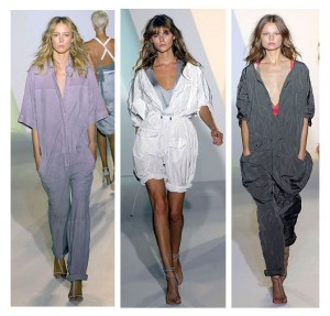 tuta moda estate 2009