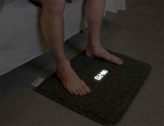 sveglia tappeto