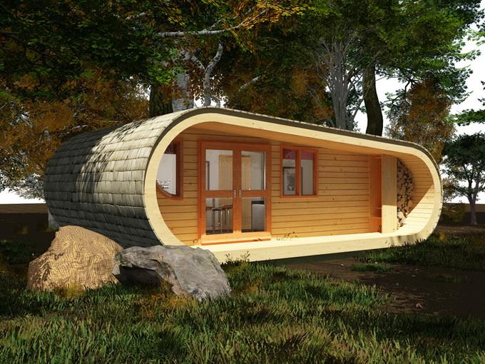 Galleria foto - Case prefabbricate in legno design Foto 8