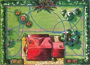 giardino irrigazione