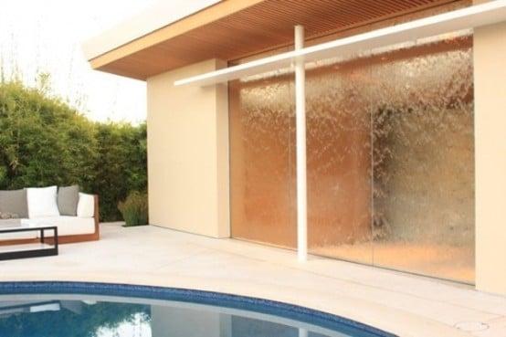 Pareti Con Cascate Dacqua : Galleria foto idee parete con cascata d acqua foto