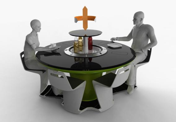 Tavolo del futuro - Petr Kubik Electrolux