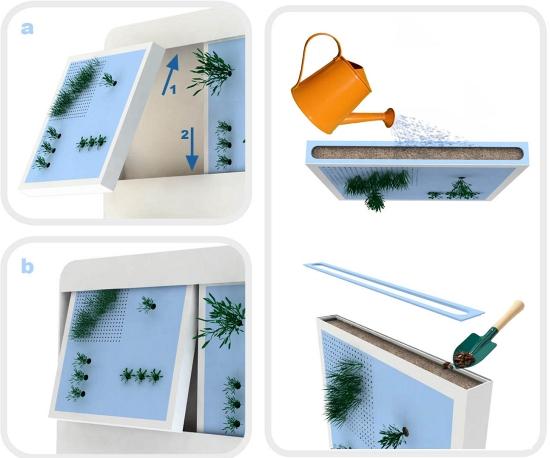 giardino orto verticale