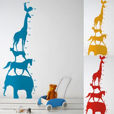 Galleria foto - Stikers per misurare altezza bambini Foto 1