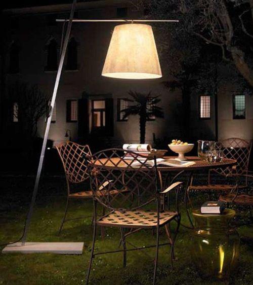 atmosfera romantica giardino