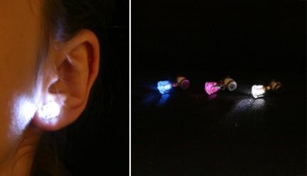 Orecchini LED