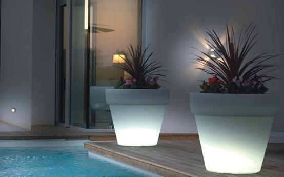 vasi led giardino