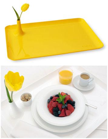 Vassoio da colazione a letto