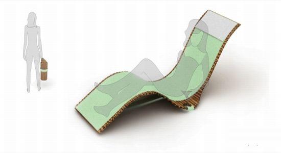 Rollounge: sedia portatile