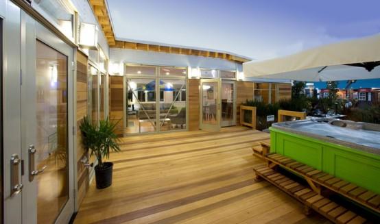 casa ecologica prefabbricata in legno