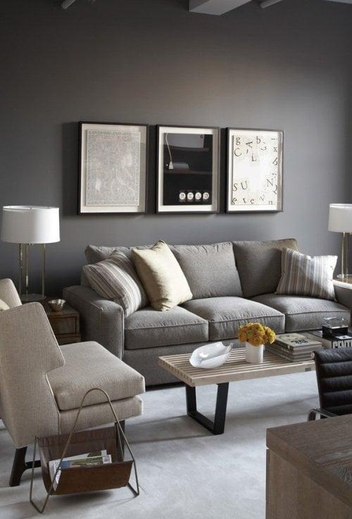 Colori pareti come dipingere - Consiglio divano ...