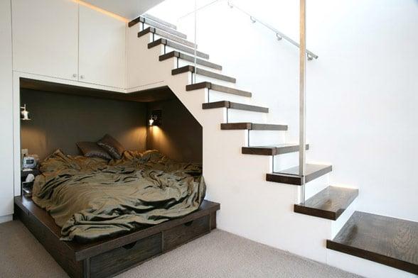 sottoscala letto
