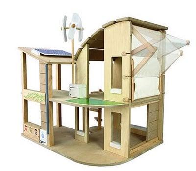 casa delle bambole ecologica
