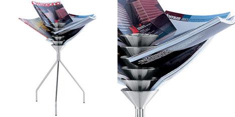 Portagiornali design moderno