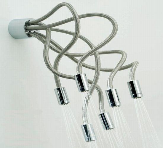 Soffione doccia: design originale