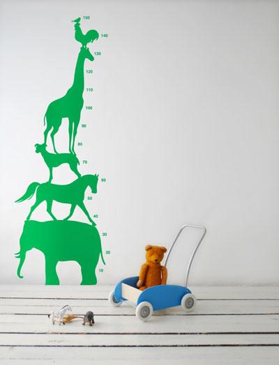 Adesivi in vinile per le camerette dei bambini