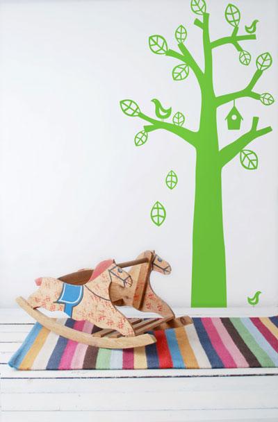 adesivi parete cameretta bambini