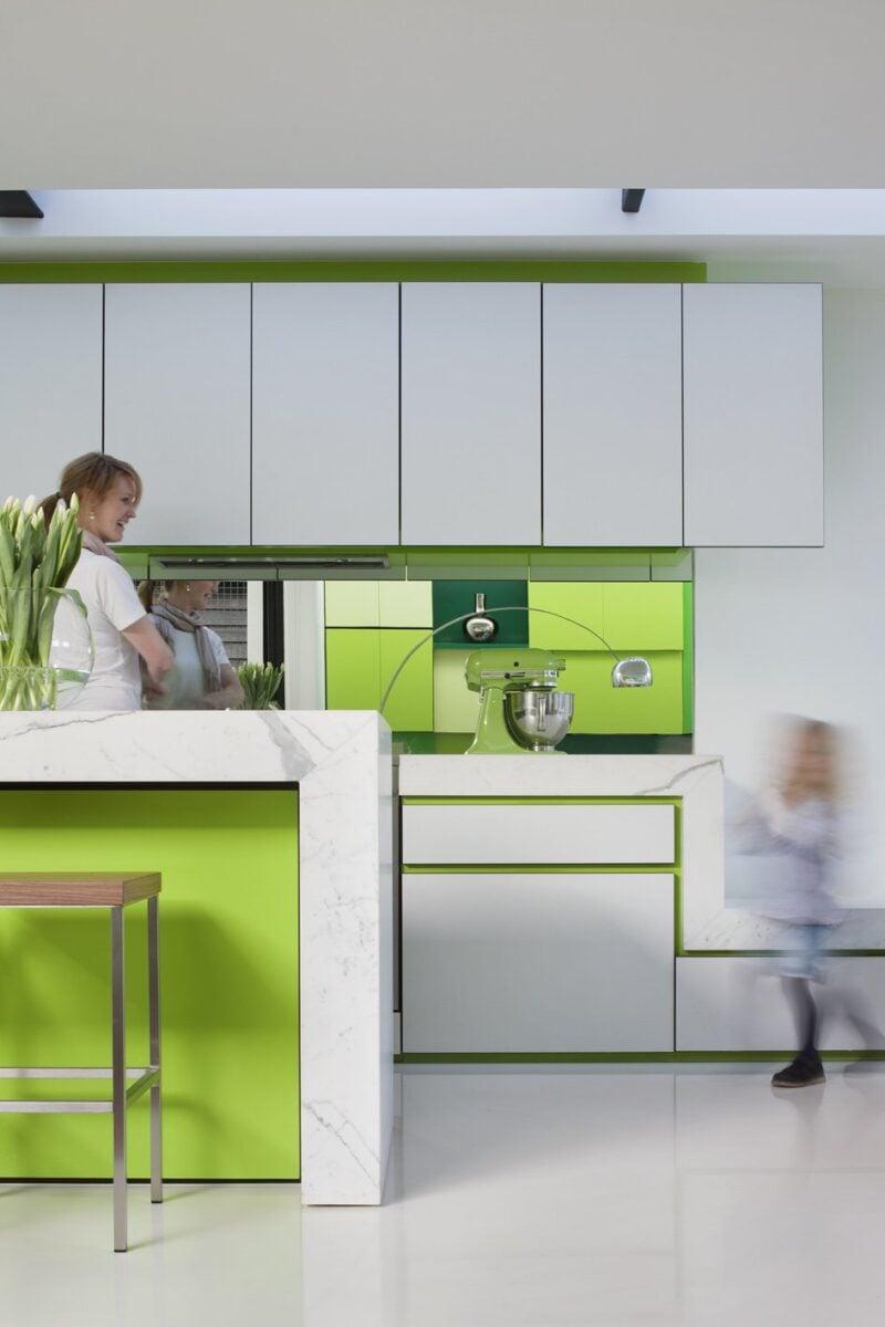 cucina-white-green