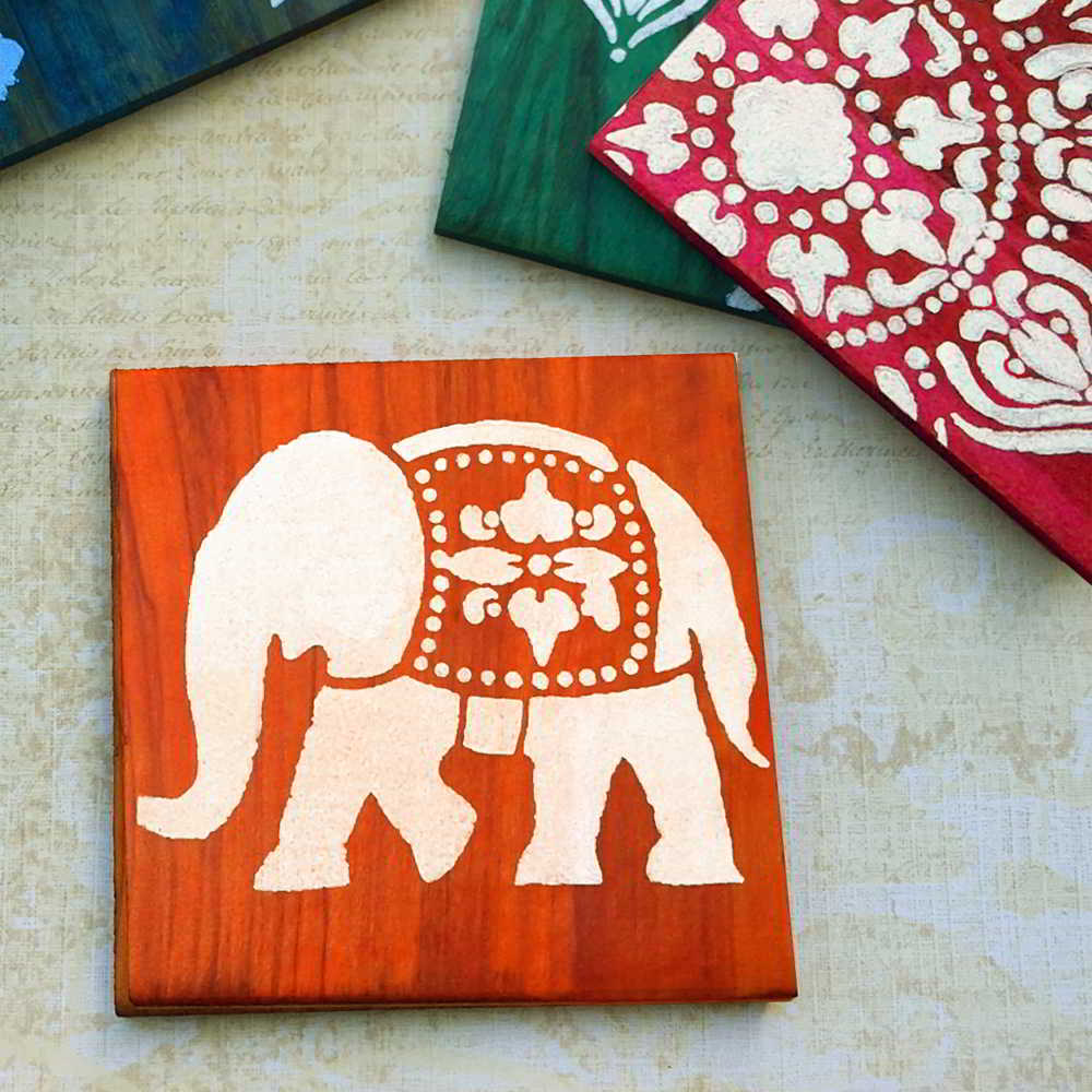 sottobicchiere-legno-elefante