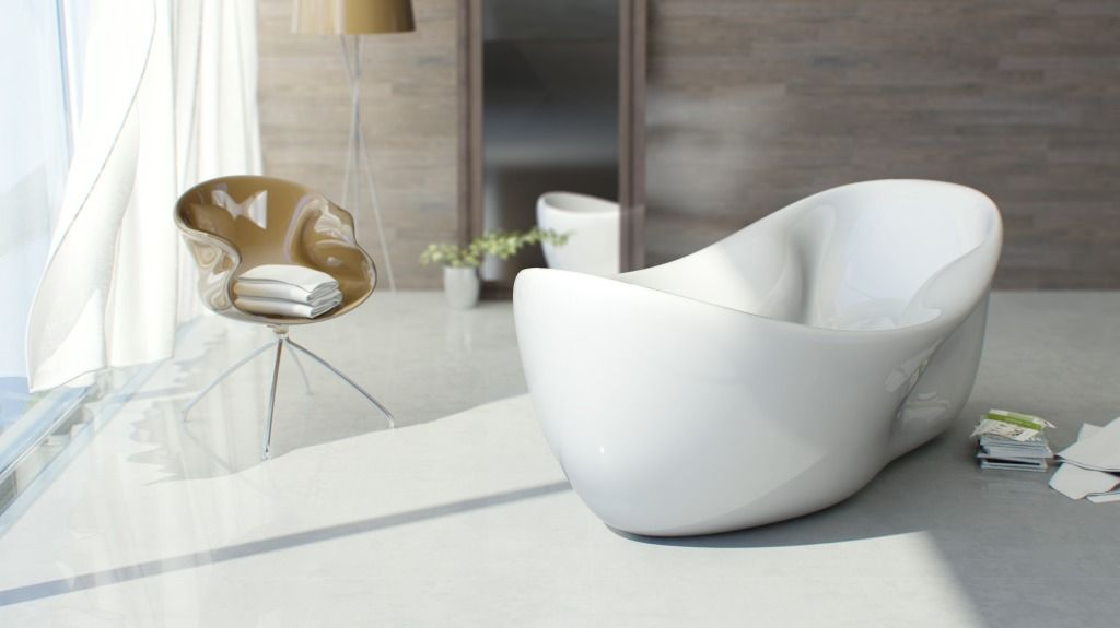 Vasche Da Bagno Design Moderno : Vasche da bagno originali