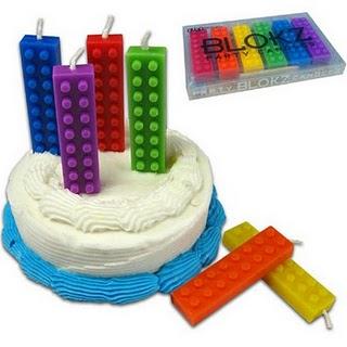 candeline di compleanno lego