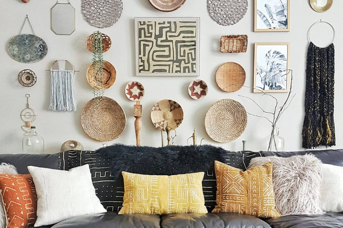 Lettere Da Appendere Al Muro idee geniali per decorare pareti con oggetti riciclati