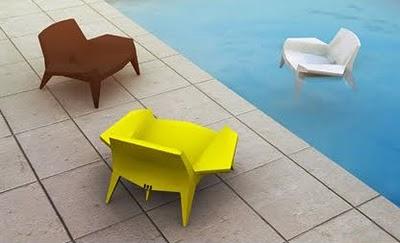 poltrona galleggiante piscina