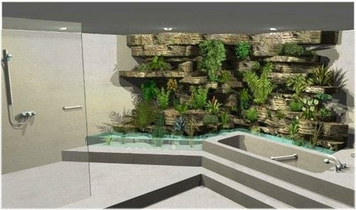 giardino interno giungla