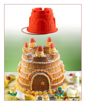 stampo torta castello