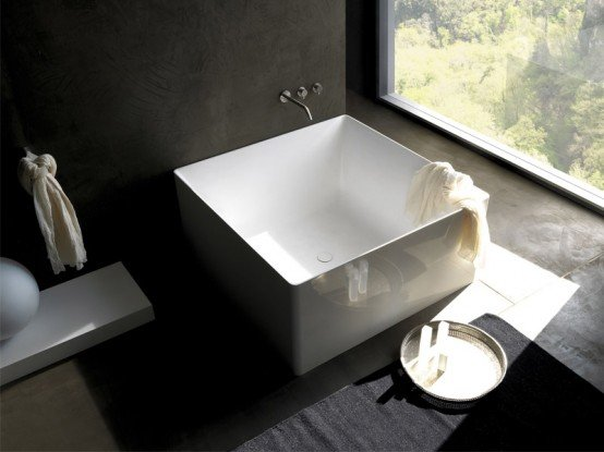 Vasche Da Bagno Moderne Piccole : Galleria foto vasche da bagno moderne e di piccole dimensioni