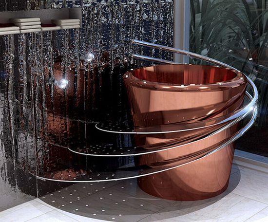 Vasche Da Bagno Moderne Misure : Galleria foto vasche da bagno moderne e di piccole dimensioni foto