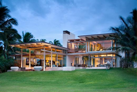 Villa di lusso in stile tropicale