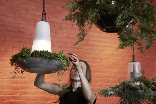 Lampade fioriere solari LED