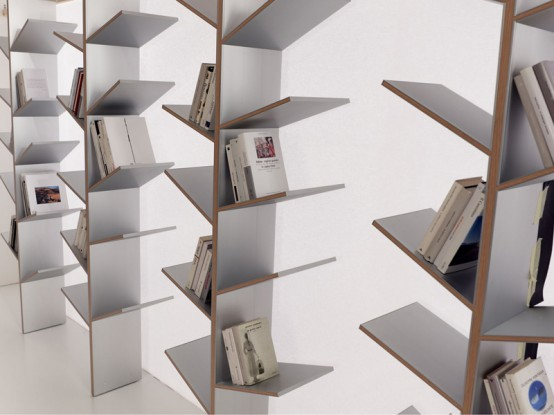 libreria divisorio ambiente