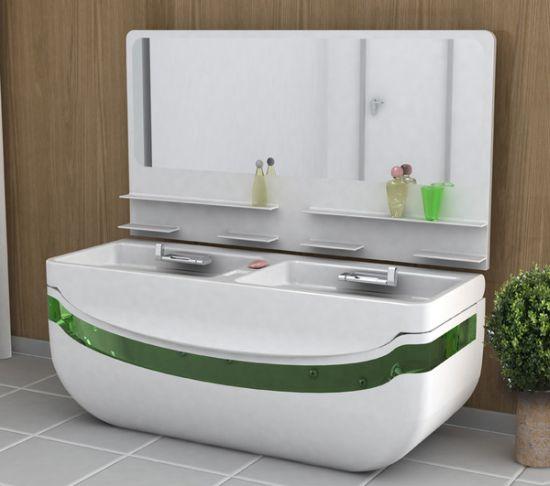 Lavabo vasca da bagno - Piccola vasca da bagno ...