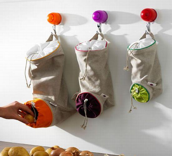 Galleria foto - Sacchetti porta patate, cipolle e aglio Foto 1