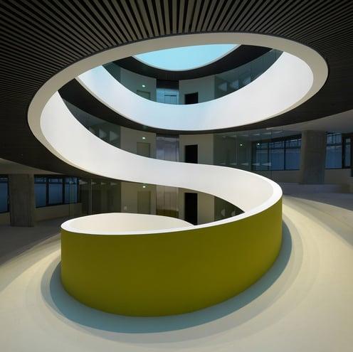 scala chiocciola-muratura-design